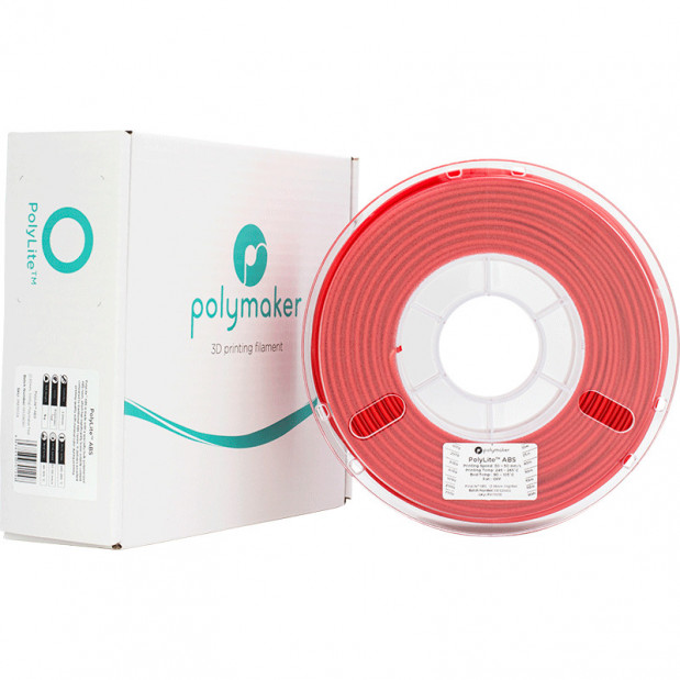 PolyLite ABS Rouge - 2.85mm - 1 kg (5)