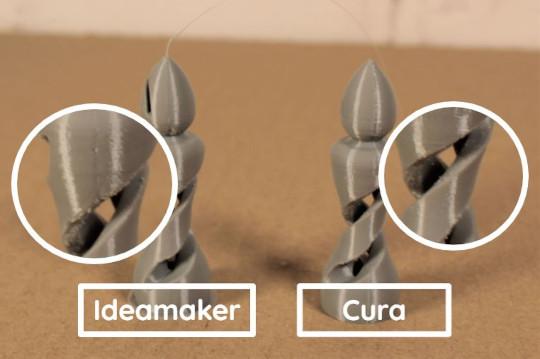 Cura et IdeaMaker