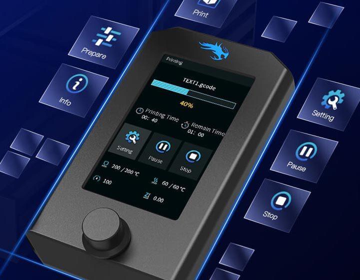 Ender-3 V2 - écran tactile
