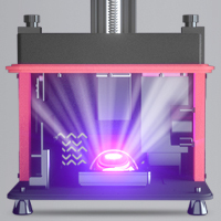 Elegoo Mars 2 Pro - Lumière LED LCD COB