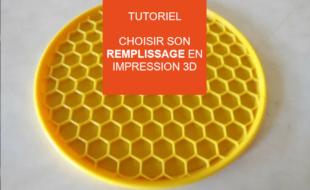 remplissage impression 3D